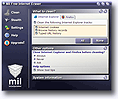 Screenshot of Mil Free Internet Eraser